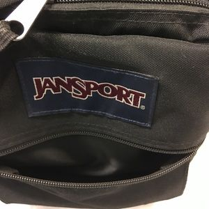 This Original JanSport Black Oversized Backpack